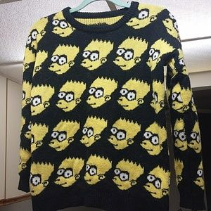 Bart simpson inspired knit